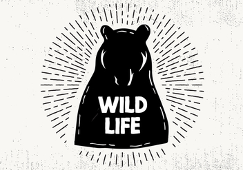 Free Hand Drawn Wild Life Background - Free vector #419057