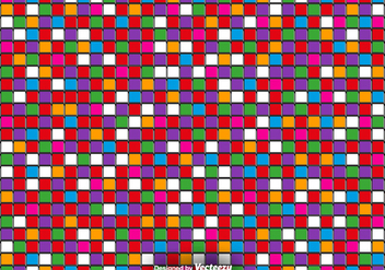 Vector 3D Colorful Tiles - Vector Abstract Background - Free vector #419297