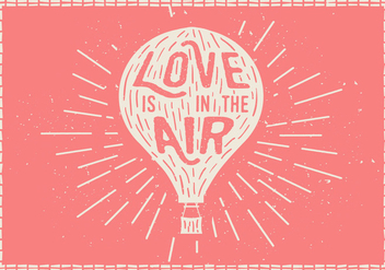 Free Hand Drawn Hot Air Balloon Vector Background - vector #419457 gratis