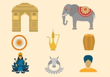 Free India Vector Collection - vector #419697 gratis