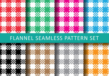 Colourfull Flannel - vector #419747 gratis