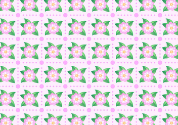 Free Camellia Pattern Vector - Free vector #420217