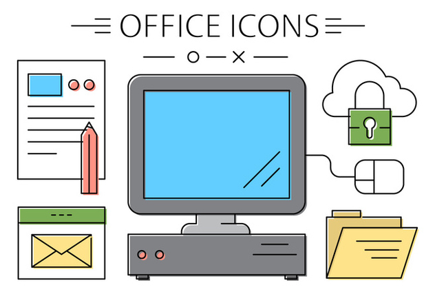 Free Office Icons - Free vector #420327