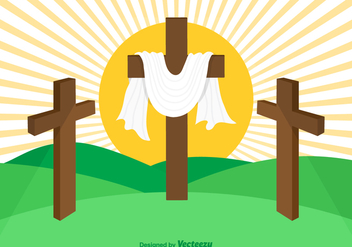 Free Vector Holy Week Background - vector gratuit #420397