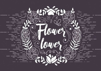 Free Vector Floral Illustration - бесплатный vector #420447