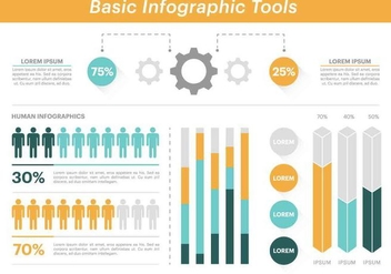 Free Vector Infographic Elements - Free vector #420457