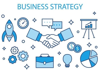 Free Business Strategy Vector Illustration - vector gratuit #420527
