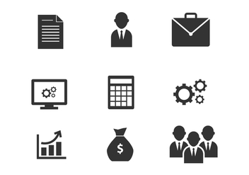 Free Marketing and Business Vector Icons - vector gratuit #420537