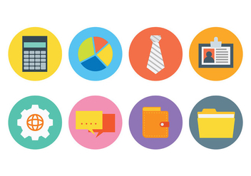 Free Business Icons Vector - vector gratuit #420797