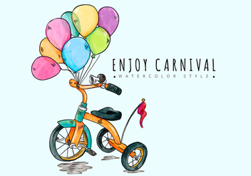 Free Carnival Background - vector gratuit #421077