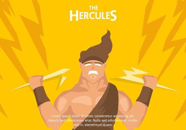 Hercules Background - vector gratuit #421517