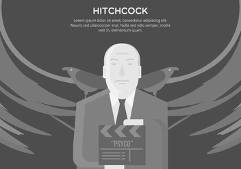Hitchcock Background - vector #421577 gratis