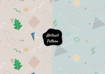 Decorative Vector Pattern - vector gratuit #422067