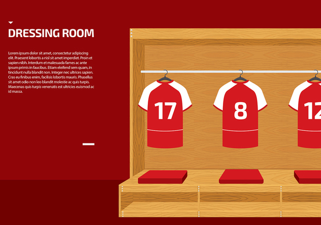 Dressing Room Sport Vector - бесплатный vector #422337