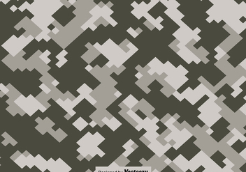 Vector Pixelated Multicam - Kostenloses vector #422737