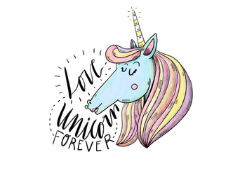 Free Unicorn Illustration - vector #422987 gratis