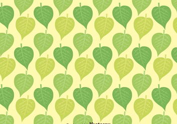 Nice Leaves Pattern Background - Kostenloses vector #423367