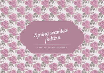 Vector Pattern of Delicate Roses - vector gratuit #423637