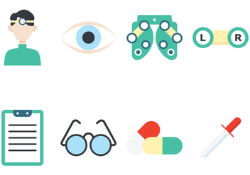 Eye Doctor Icon - Kostenloses vector #424187