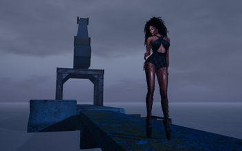Candice bodysuit and skirt by United Colors @ Kinky Event - image gratuit #424497