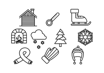 Free Winter Vector Pack - Kostenloses vector #424567