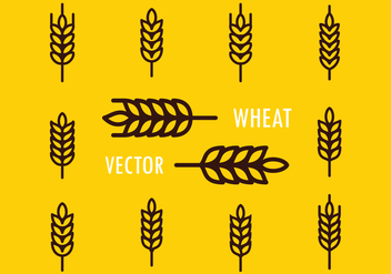 Wheat Free Vector - vector gratuit #425147