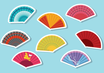 Free Spanish Fan Vector - vector gratuit #425327