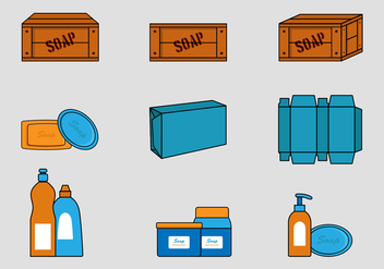 Wooden Soap Box - Free vector #425417