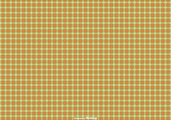 Orange/Green Flannel Pattern Background - vector gratuit #425437