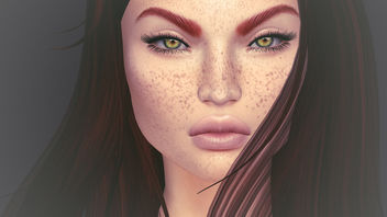 Oslo Lashes for Lelutka & Freckles for LeLutka & Catwa by Arte @ Skin Fair 2017 - image gratuit #425557