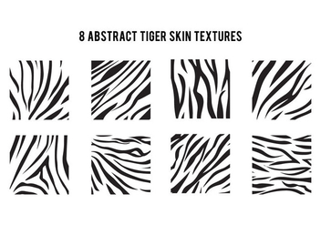 Simple Tiger Stripe Pattern - Free vector #425727