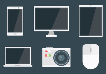 Free Tecnologia Icons Vector - Free vector #426087