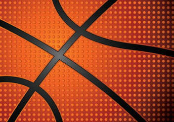 Riveted Basketball Texture Vector - Free vector #426137