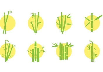 Free Bamboo Icons Vector - Free vector #426147