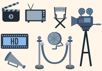 Free Cinema Vector Collection - бесплатный vector #426187