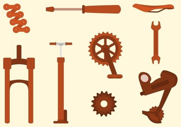 Free Bike Vector Collection - vector gratuit #426227
