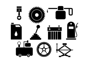 Free Automotive Vector Tools and Icons - vector #426497 gratis