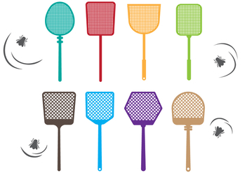 Free Fly Swatter Vector Collection - vector gratuit #426657