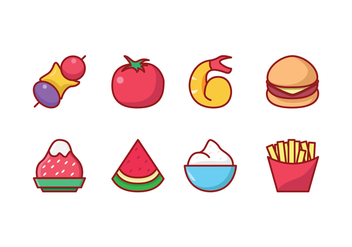 Free Food Icon Set - vector gratuit #426857