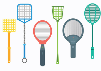 Free Fly Swatter Icons Vector - vector #426927 gratis