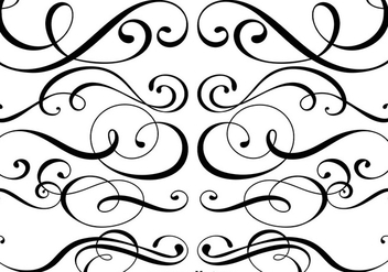 Ornamental Dividers Vector - бесплатный vector #427357