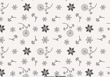 Blowball Doodle Vector Seamless Pattern - Free vector #427517