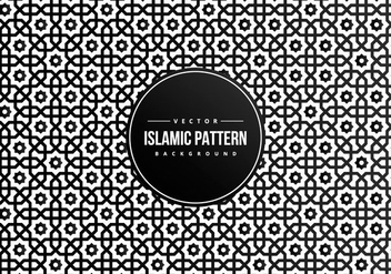 Islamic Style Pattern Background - Kostenloses vector #427757