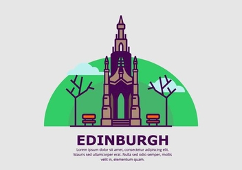Edinburgh Background - бесплатный vector #428367