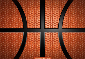 Vector Basketball Texture Background - бесплатный vector #428577