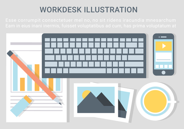 Free Vector Designer Desktop Illustration - vector #428717 gratis