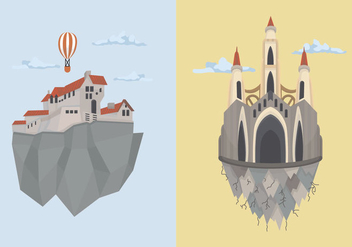 Edinburg Kingdom Building Vector Illustration - Free vector #428817