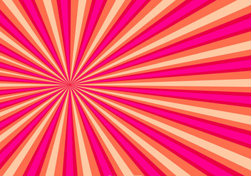 Colorful Sunburst Background - бесплатный vector #429027