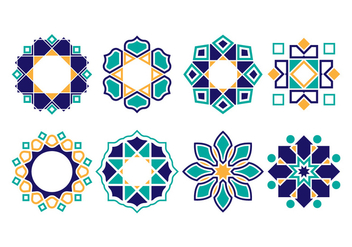 Free Islamic Ornament Vectors - Free vector #429187