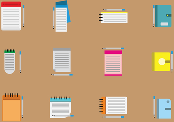 Free Block Notes Vector - vector #429217 gratis
